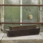 LOUISE - Rustic brown bakke - kommer i to størrelser